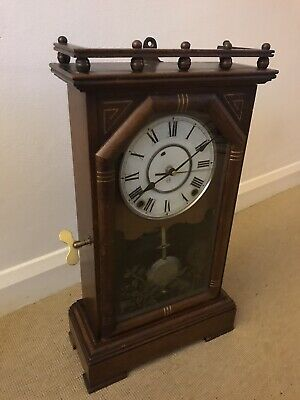 Antique Mantle Clock by Seth Thomas (converted to quartz Battery movement)