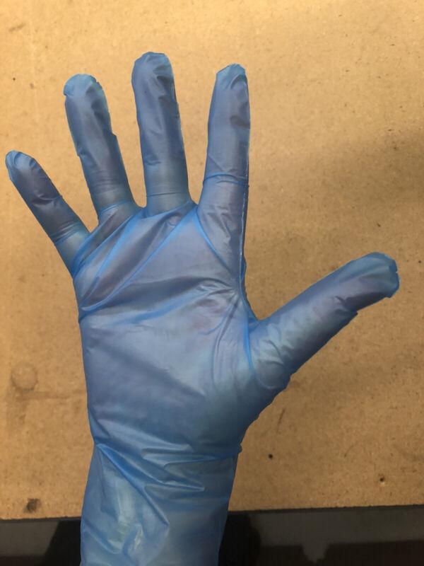 Disposable Vinyl Glove TPE Case 1000ct Large