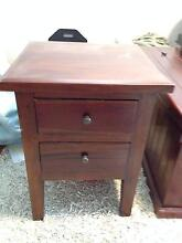 Timber Bedside Table Kangaroo Point Brisbane South East Preview