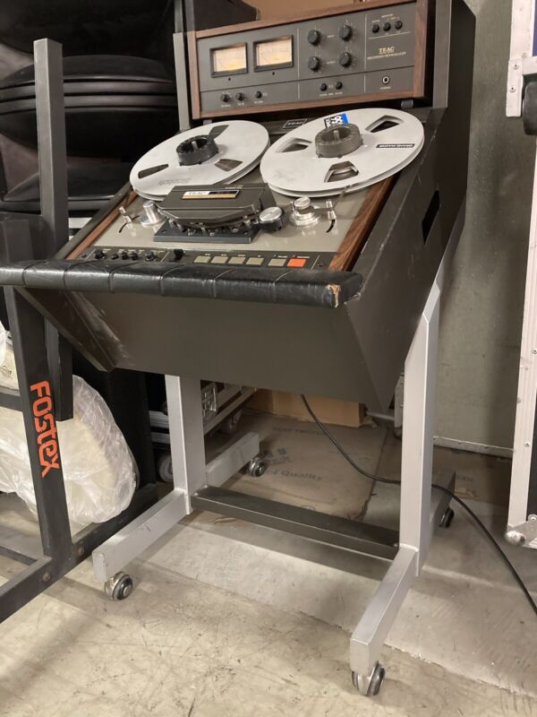 "TEAC TASCAM SERIES 35-2 Reel to Reel 1/4"" TAPE MASTERING RECORDER/REPRODUCER."
