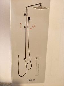 Deluxe Square Shower COMBO Mount Lewis Bankstown Area Preview