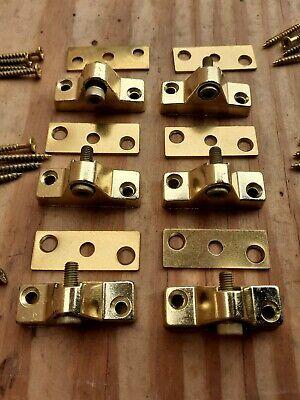 Reclaimed Brass Finish Chubb Security Windows Locks Set 6