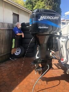 **** MERCURY 150hp OPTIMAX EDITION EFI OIL INJECTION LOW HRS *****