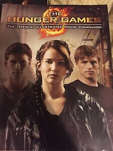 The Hunger Games Illustrated Movie Book