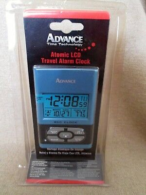 NWT Advance LCD Travel Alarm Clock by The Geneva Clock Co. - See Description