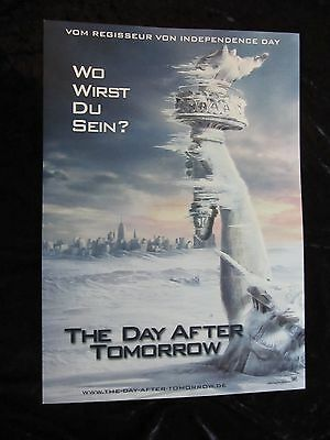 THE DAY AFTER TOMORROW lobby card # 4