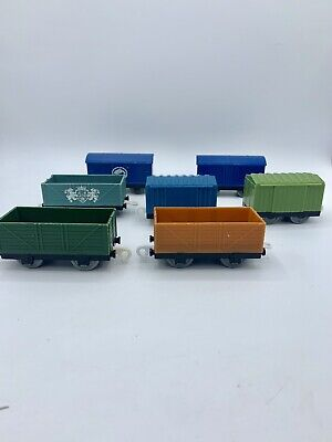 Thomas & Friends Trackmaster For Motorized Sets Empty Cargo Cars Boxcars Wagon