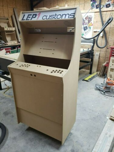 """Easy to Assemble LVL32J 2 Player Sanwa Upright Arcade Cabinet Kit for 32"""" screen"""