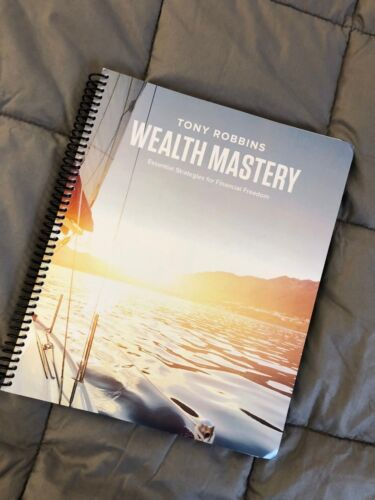 Tony Robbins Wealth Mastery Workbook Manual - Brand New