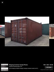 LOOKING FOR A 20ft. SHIPPING CONTAINER, HAVE CASH !!!!