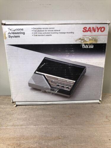 NOS Sanyo Answering Machine TAS 332 New Old Stock