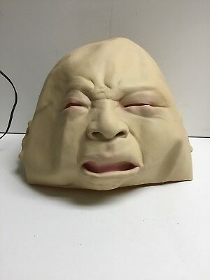 Crying Cry Baby Mask Face Latex Adult Mens Womens for Halloween - Crying Baby Face Mask