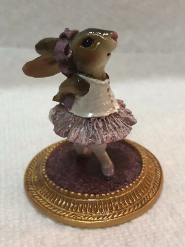 Wee Forest Folk Special Color Lavender Rabbit Dancer