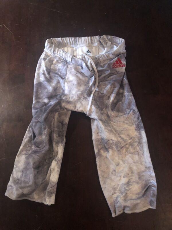 Indiana University Football Pants White Gray Camo Game Used/Worn Hep