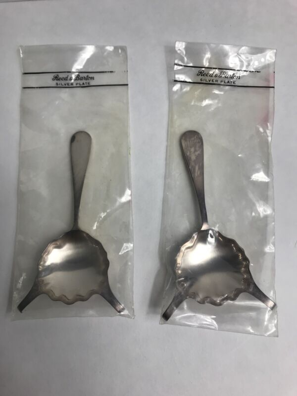 Reed & Barton Silverplate Cafe Royale Cognac Warmer Spoons Adlers New Orleans
