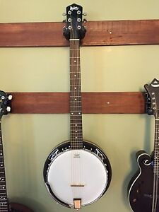 NEW-MADERA-6-STRING-BANJO-24-BRACKET-BANJITAR