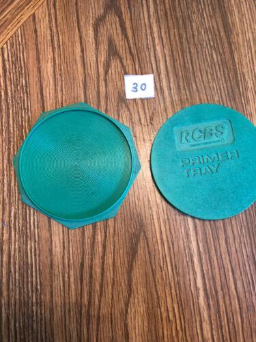 RCBS Reloading Primer Flip Tray Used lot 30