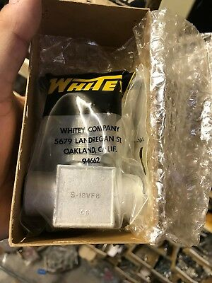 Swagelok-whitey Valve New In Factory Box S-18vf8 Carbon Steel