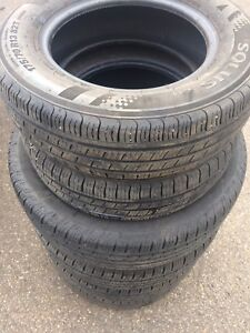 175/70R13 two tires with 90% $40