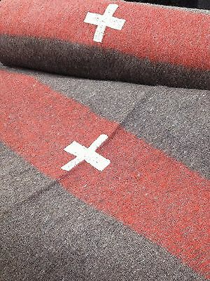 Swiss Army Reproduction Wool Camping Blanket 60 x 84 - new