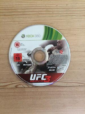 UFC Undisputed 3 for Xbox 360 *Disc Only* comprar usado  Enviando para Brazil