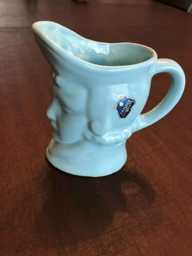 Camark Pottery Head Vase / Pitcher