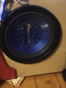 "12"" sub and amp for sale"