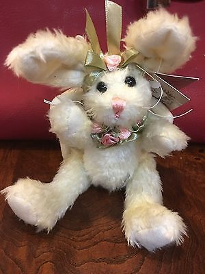 """Bearington Collection Bunny Angel """"Baby Purity"""" Style 4080  Retired NWT"""