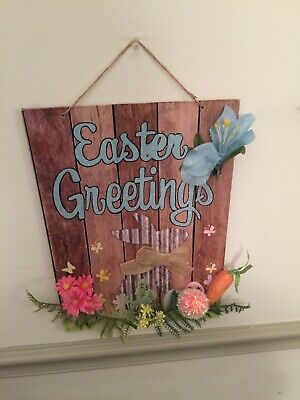 Easter Decor Wall Hanging . Discounted Price For Limited - Halloween Decorations Discount