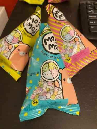 Original Moj Moj Squishies Itty Series ~ 3 Packs, New Sealed