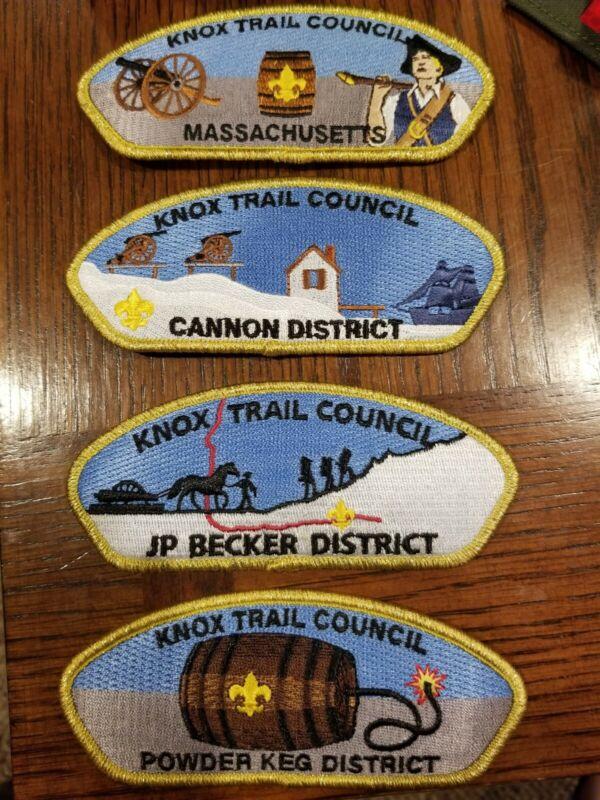 Knox Trail Council Gold Set, Last Set Made! KTC CSP