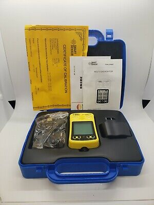 4 In 1 As8900 Gas Monitor Detector As8900 Co O2 H2s Oxygen Gas Analyzer Meter Tx