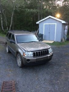 2005 Jeep Grand Cherokee Part Out!!