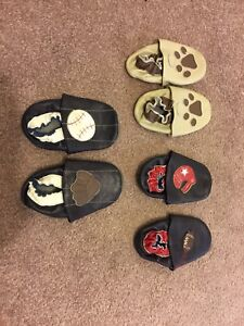 Toddler leather indoor shoes,excellent condition