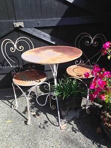 Garden table and chairs Mosman Mosman Area Preview