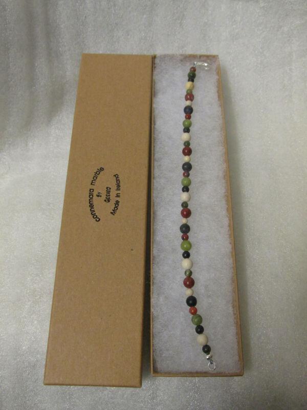 GENUINE Marble Of Ireland(4 Province) Celtic Wire Bracelet