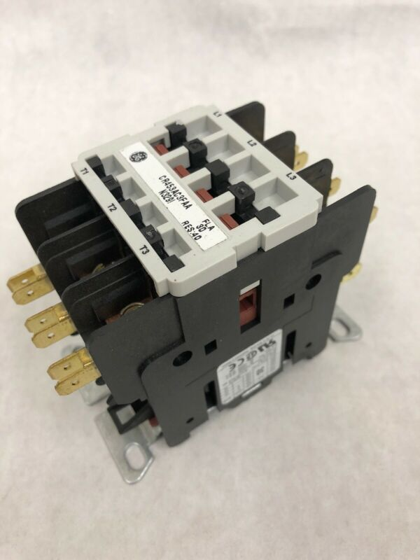 GENERAL ELECTRIC GE CONTACTOR DEFINITE PURPOSE CR453AC3FAA