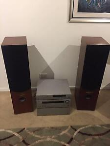 Arcam AVP700 Controller and P1000 Amp plus Kelly KT3 speakers Potts Point Inner Sydney Preview