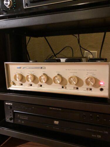 Sherwood s 5500 IV tube amp