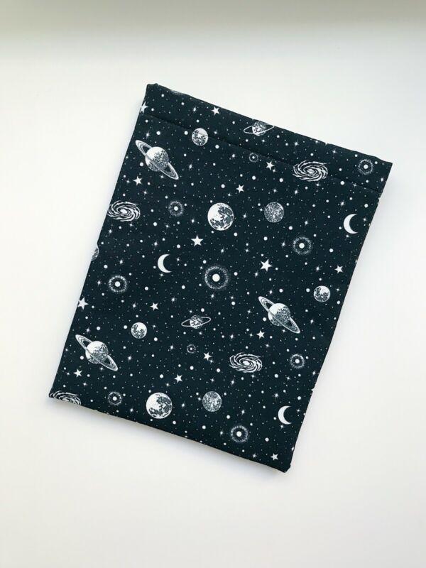 Handmade Book Sleeve - Glow in the Dark Space