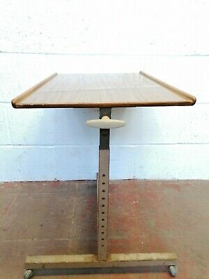 Vintage Hospital Table by Staples Cantilever Tables