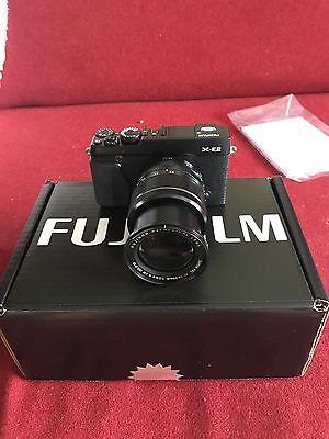Fujifilm X Series X-E2 16.3MP Digital Camera - Black (Kit w/ XF R LM OIS 18-55mm