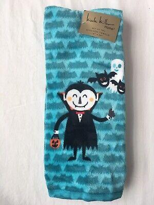 Halloween Dish Towels (2 Halloween Kitchen Hand Dish Towels Gift Home, Nicole Miller 18x28)