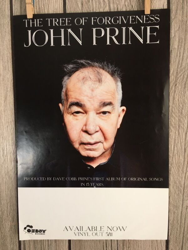 John Prine The Tree Of Forgiveness Record Album Oh Boy POSTER Country Folk 11x17