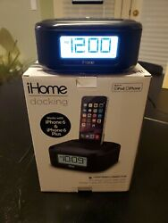 iHome (iPL23) Stereo FM Clock Radio with Lightning Dock for iPhone/iPod