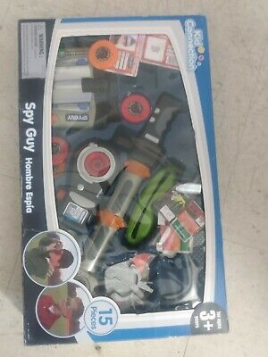 Used Kid Connection 15 Pieces Spy Guy Kit Game