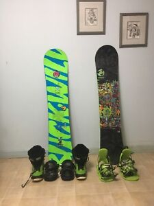 Snowboards, bindings,and boots!!