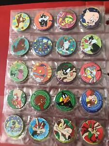 Hundreds of Tazo collectables RARE and Space Jam Game Fairy Meadow Wollongong Area Preview