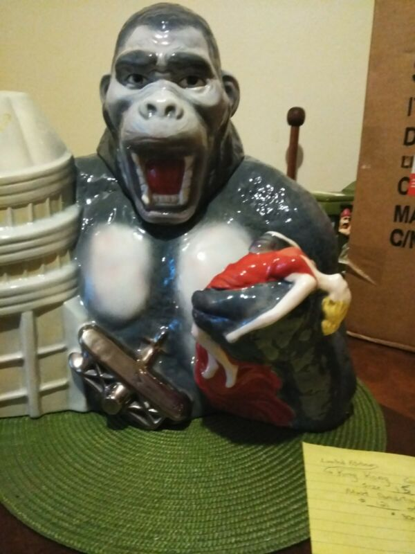 King Kong Star Jar Cookie Jar