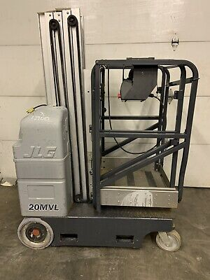 2010 Jlg 20mvl 20 Electric Runabout Scissor Vertical Mast Drivable Man Lift